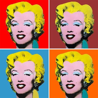 Pop Art Imagery (relating to the 'vanity' image) | tashlewington